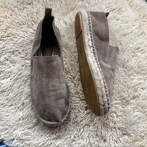 Vince gray suede espadrille flats Robin 9